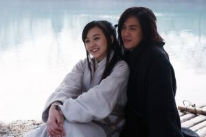 The Taiwanese actors Ivy Chen and Baron Chen in the 2010 TV adaptation of Meteor, Butterfly, Sword