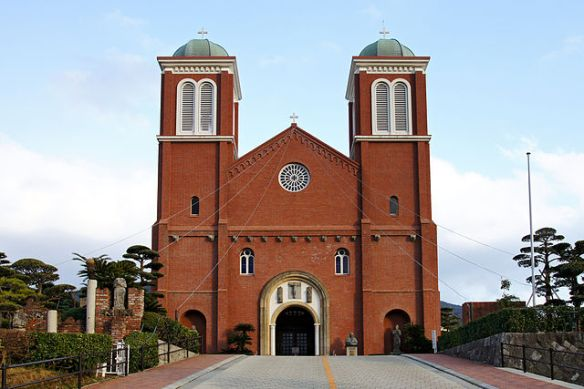 """St. Mary's Cathedral (Urakami Cathedral), Nagasaki Japan"" by 663highland. Licensed under CC BY 2.5 via Wikimedia Commons."
