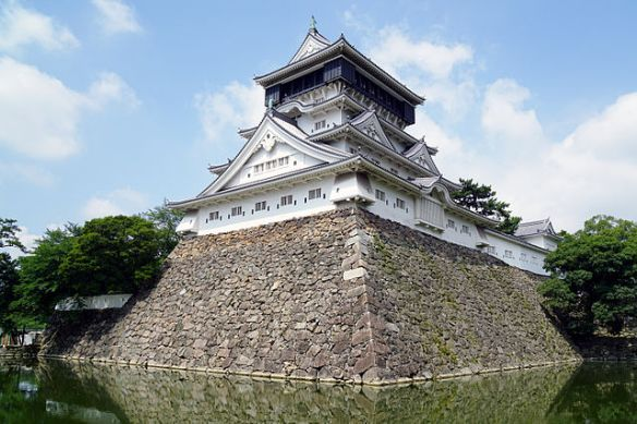 """Kokura Castle, Kitakyushu,  Japan"" by 663highland. Licensed under CC BY 2.5 via Commons."