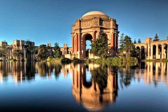 """Palace of Fine Arts SF CA"" by Kevin Cole (en:User:Kevinlcole) - originally posted to Flickr as Palace of Fine Arts. Licensed under CC BY 2.0 via Commons."