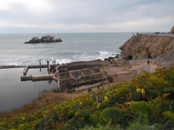 Sutro Baths, as I saw it in January 2016