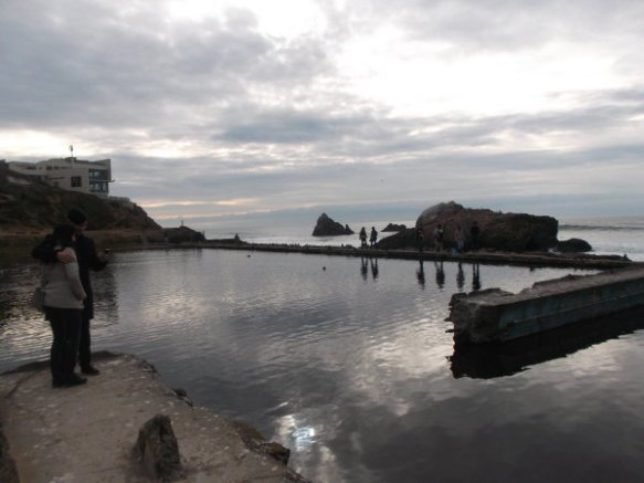 Sutro Baths, also as I saw it in January 2016