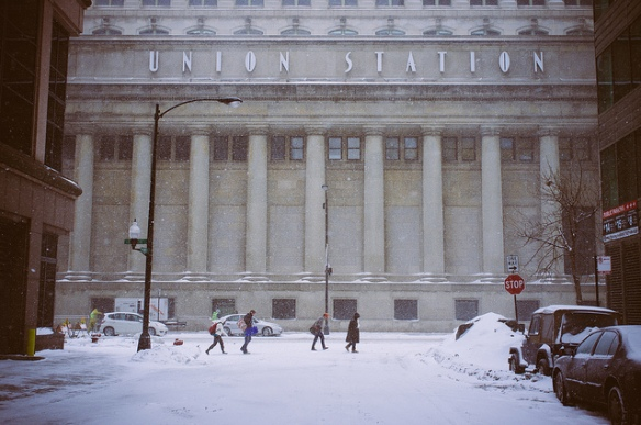 Photo of Chicago's Union Station by Cuddlesworth. Used in accordance with Creative Commons 2.0 License.
