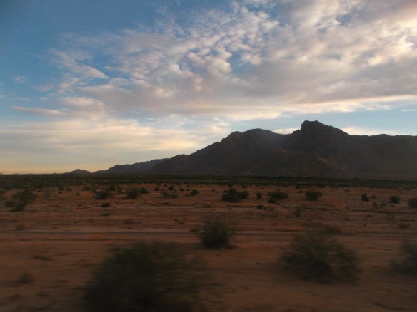 Arizona in the morning