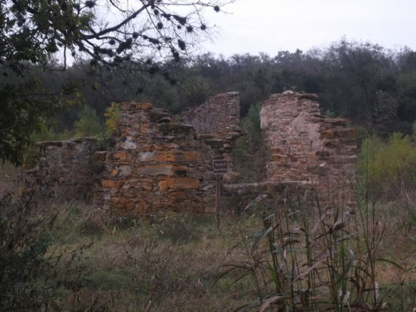 Here is the remains of one of those old 19th century mills.