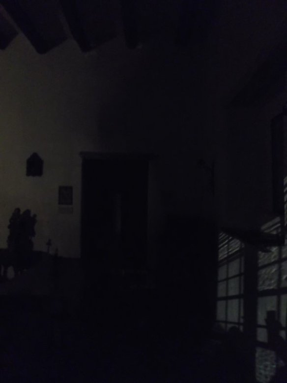 Here is the photo I took of this supposedly super-haunted room. Do you see any ghosts?