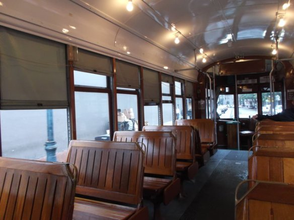 The St. Charles streetcar