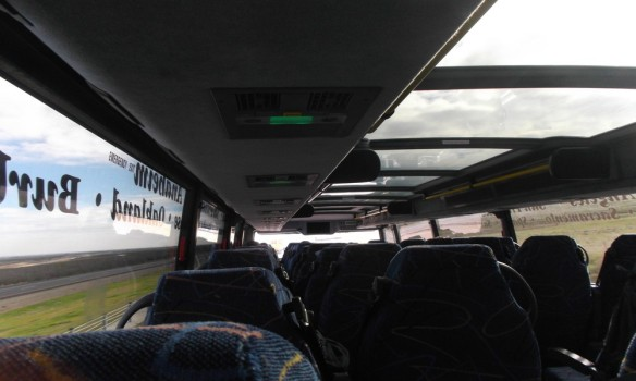 Inside the Megabus