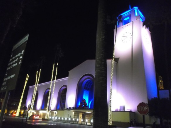 Union Station, as seen from the outside.