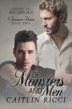 The cover of Of Monsters and Men by Caitlin Ricci