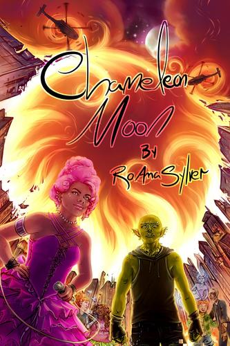 The cover of Chameleon Moon by RoAnna Sylver