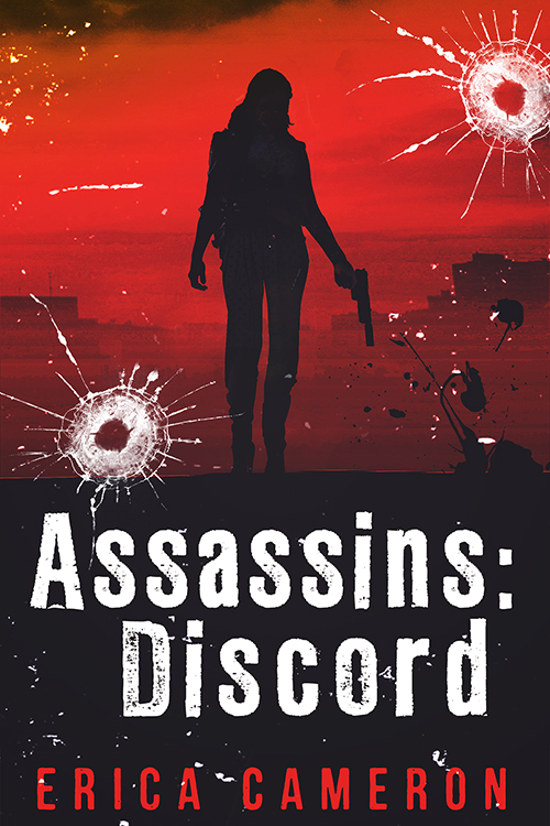 The cover of Assassins: Discord by Erica Cameron