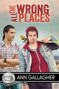 The cover of All the Wrong Places by Ann Gallagher