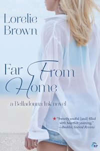 The cover of Far From Home by Lorelie Brown