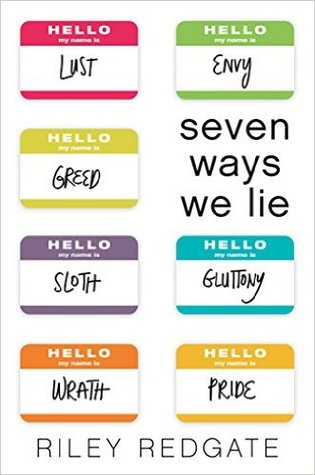 The cover of Seven Ways We Lie by Riley Redgate