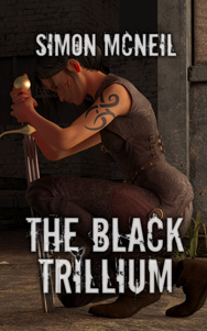 Cover of The Black Trillium by Simon McNeil