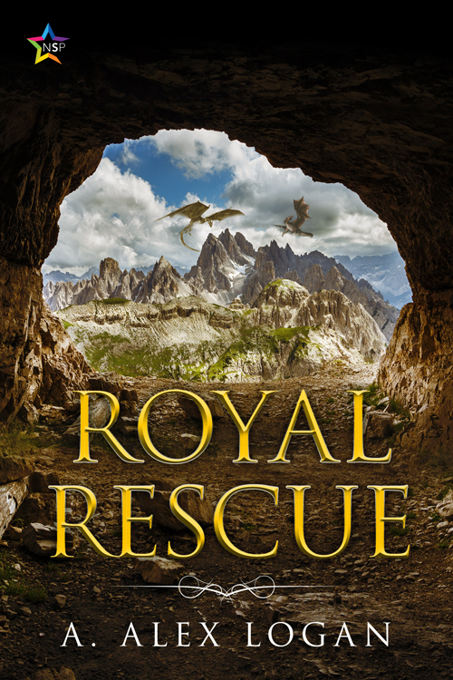The book cover for Royal Rescue